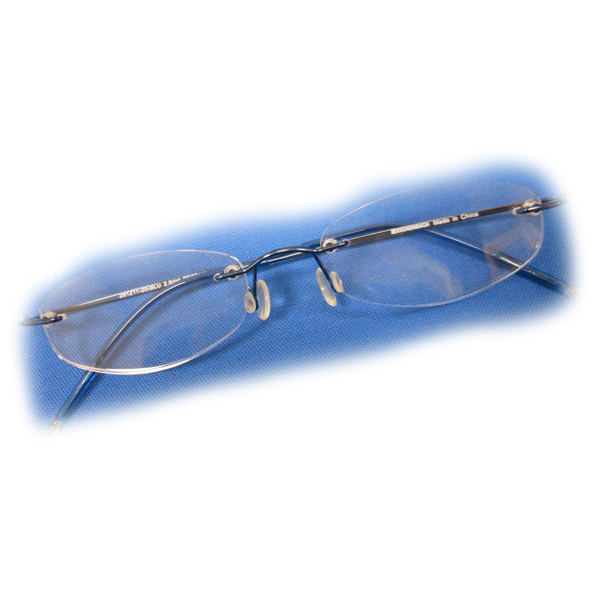 1 5 diopter eschenbach rimless reading glasses silver oval