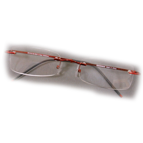 2 5 diopter eschenbach rimless reading glasses