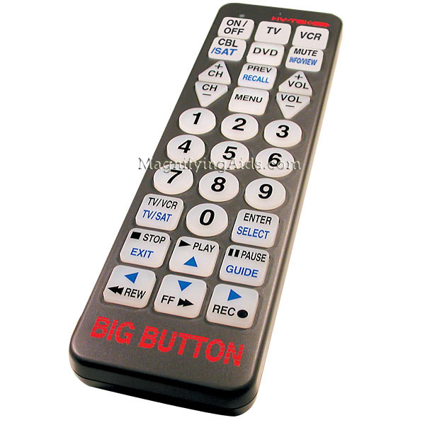 Big Button Remote Controls - Independent Living Centres Australia