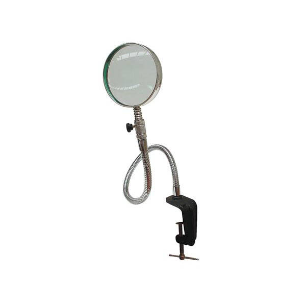 3x Gooseneck Table Clamp Magnifier