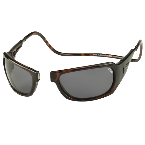 CliC Monarch Magnetic Sunglasses - Frame: Tortoise, Lens