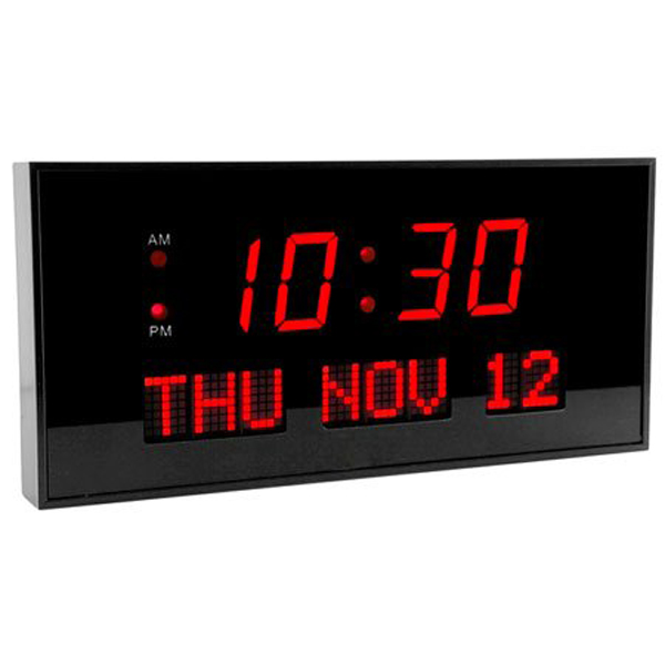 Low vision clocks talking clocks voice activated clocks Digital led wall clock
