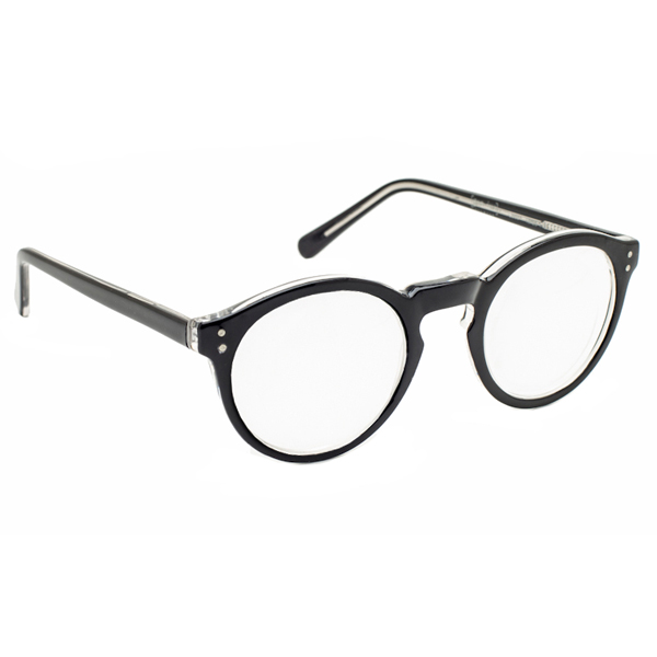 MAGNIFYING AIDS 3X / +12 Diopter Magnifying Reading Glasses - Black at Sears.com