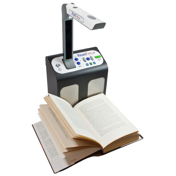 magnifying reader machine