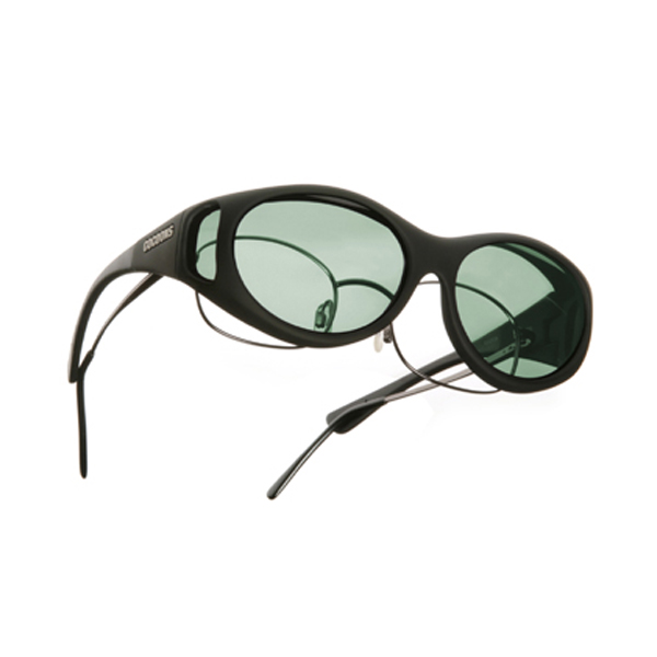 Cocoons Low Vision Sunglasses: Fit Over Prescription Eyewear, Polarized Gray, Size: Wide Line ML at Sears.com