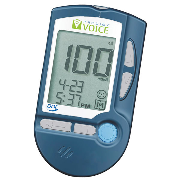 Prodigy Voice The Talking Blood Glucose Monitoring System