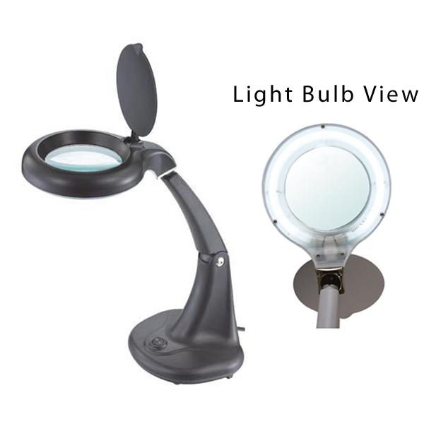 2x Magnifying Desk Lamp Color Black Click To Enlarge