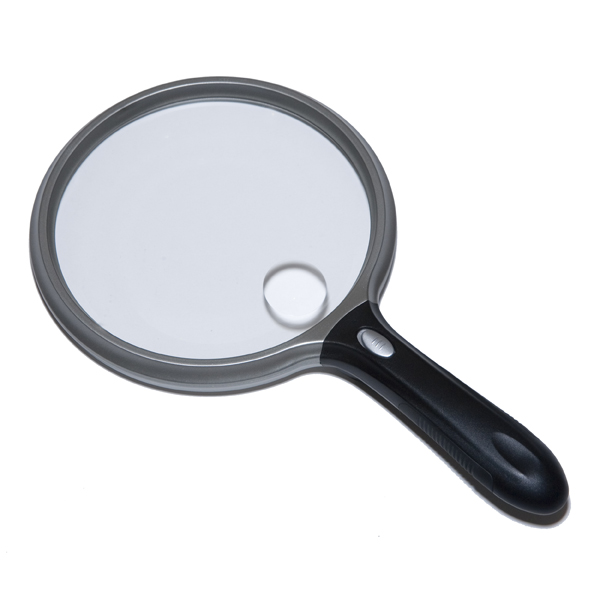 Lighted Magnifying Glasses Hand Held Illuminated