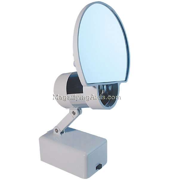 10x magnifying mirror with light. Black Bedroom Furniture Sets. Home Design Ideas