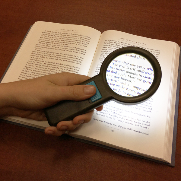 Inch Diameter Magnifying Glass