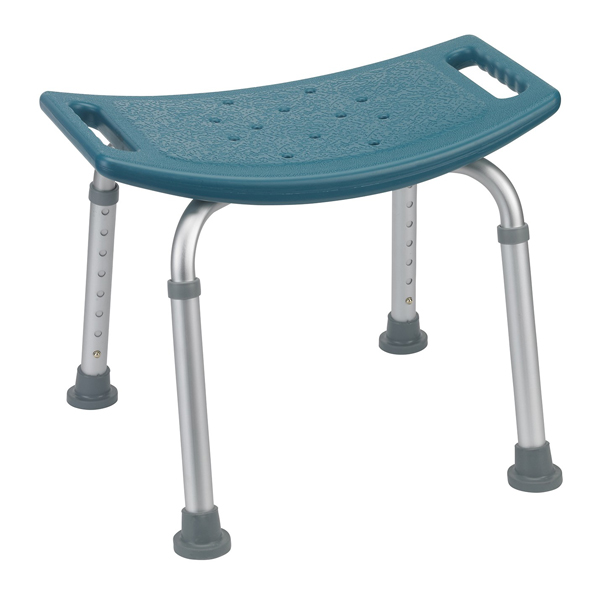 Bathroom Safety Shower Tub Bench Chair Without Back Teal
