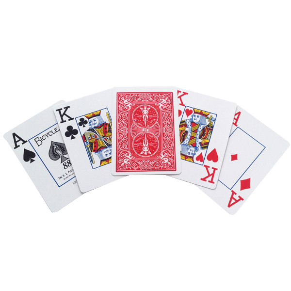 bicycle low vision playing cards standard size poker cards. Black Bedroom Furniture Sets. Home Design Ideas