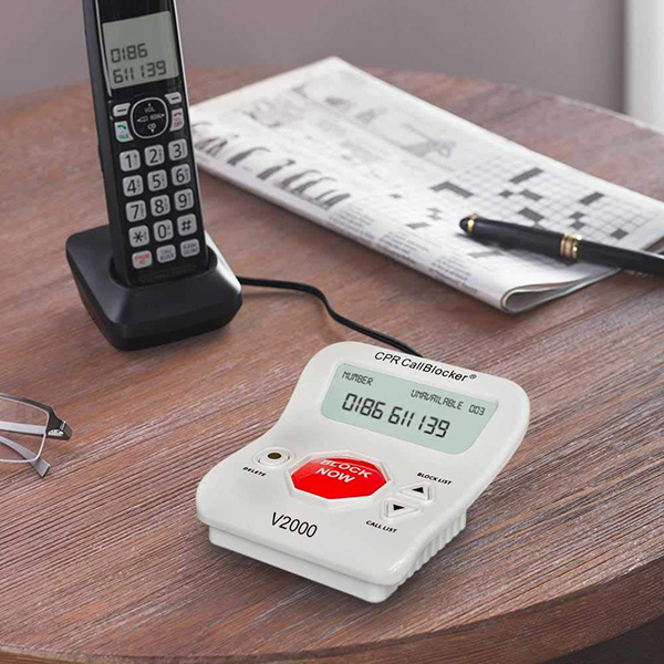 Low Vision Caller ID, Voice Activated Dialer