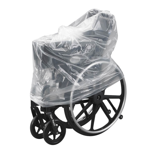 Clear Plastic Transport Storage Covers Wheelchair