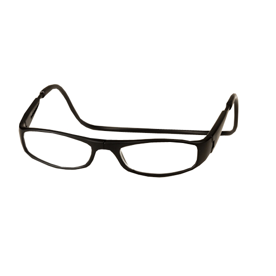 d4e087e727e4 ... Diopter Magnetic Reading Glasses  Euro - Black Click to Enlarge