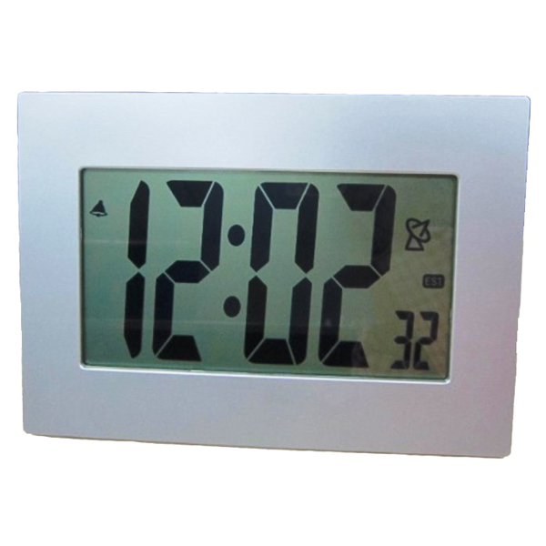 Extra Large Lcd Display Atomic Table Wall Alarm Clock
