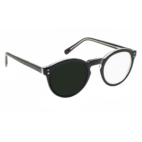 3x 12 diopter magnifying reading glasses left eye