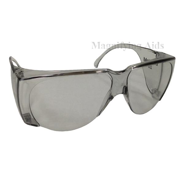 Gray Sunglasses  noir fit overs low vision sunglasses