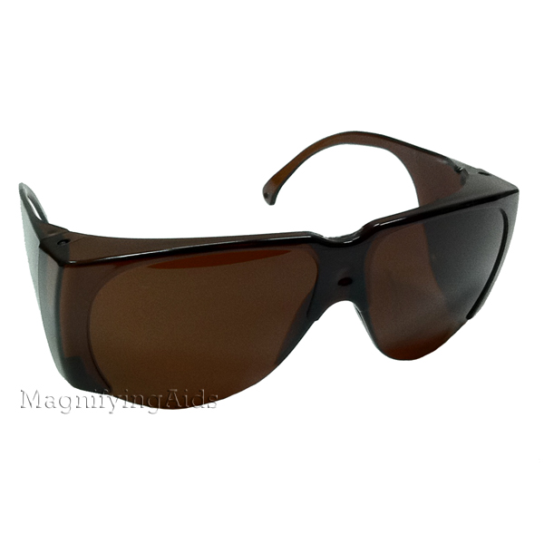 33e3b853ca NoIR N43 UV Shield Sunglasses - 4% Dark Amber Non-Fitover