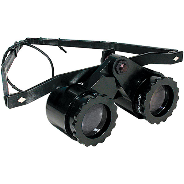 Sunglasses Three Dots  head mounted binoculars magnifying glasses for tv sports and