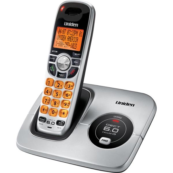 uniden dect 6 0 cordless phone system caller id rh magnifyingaids com Uniden Digital Answering System Phones Cordless Phones DECT 6.0 Manual